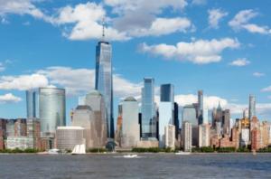 都会の景色と投資・イメージ